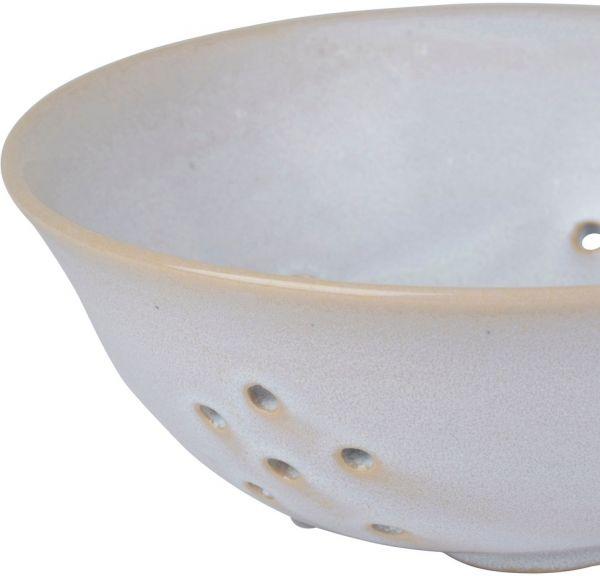 ДУРШЛАГ, COTE TABLE, COLANDER COEUR REACTIVE WHITE D22XH9 STONEWARE, АРТИКУЛ 36839